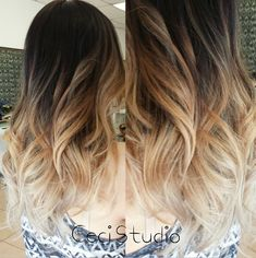 Awesome DIY Ombre Hair Color Ideas for 2017 Maybe I can get the best of both worlds! - 60 Awesome Ombre Hair Color Ideas To Try At Home! - 60 Awesome Ombre Hair Color Ideas To Try At Home! Ombré Hair, Hair Dos, New Hair, Love Hair, Gorgeous Hair, Beautiful, Long Wavy Hair, Pretty Hairstyles, Men's Hairstyle
