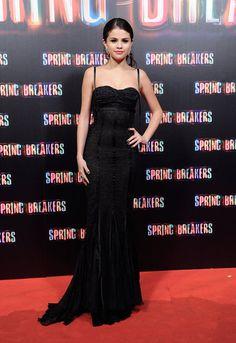 Selena Gomez at Spring Breakers Premiere in Madrid | Photos