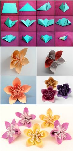 How To Make Kusudama Paper Flower