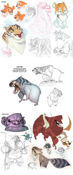 || CHARACTER DESIGN REFERENCES | Find more at https://www.facebook.com/CharacterDesignReferences if you're looking for: #line #art #character #design #model #sheet #illustration #best #concept #animation #drawing #archive #library #reference #anatomy #traditional #draw #development #artist #how #to #tutorial #conceptart #modelsheet #animal #animals
