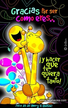 Discover recipes, home ideas, style inspiration and other ideas to try. Cute Spanish Quotes, Cute Quotes, Great Inspirational Quotes, Giraffe Art, Girly Drawings, I Love You Baby, Love Phrases, Morning Wish, Birthday Pictures