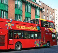 Visit Dublin - Tours of Dublin & Tour Guides - City Sightseeing Hop on/Off Tour (Multi-lingual)