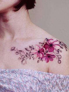 Stupendous Flowers Tattoo