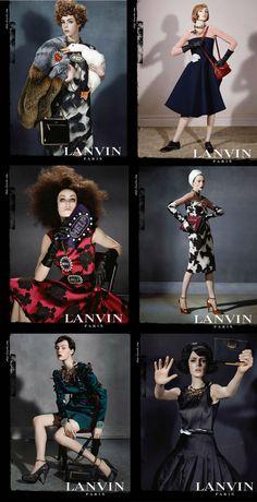 Lanvin Fall 2013 ad campaign