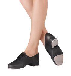 Split Sole Jazz Tap Shoes - Tap Shoes   DiscountDance.com