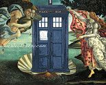 Birth of the TARDIS, because Botticelli got wrong the first time. :D