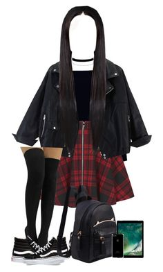 """""""January 1, 2017"""" by lyricjay ❤ liked on Polyvore featuring Boohoo, Oh My Love, Miss Selfridge and Vans"""