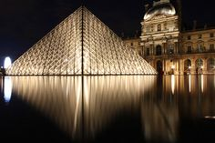 Reflect Louvre by Anna Chlopecki, via 500px