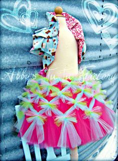 Abby's TuTu Factory: How to make Abby's TuTu Factory signature criss cross tutu