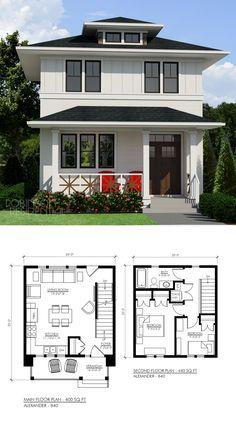 Ideas House Plans Modern Farmhouse Design For 2019 Farmhouse Plans, Farmhouse Design, Modern Farmhouse, Farmhouse Small, Tiny House Plans, House Floor Plans, Small House Plans Under 1000 Sq Ft, Tiny Home Floor Plans, Small Home Plans