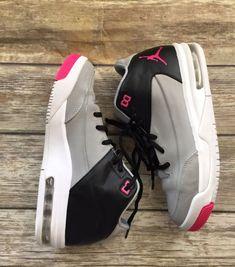 2fb974b1c9f Kids Jordan s Size Gray  Black  Pink