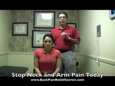 THIS WORKS WONDERS FOR Pinched Nerve (Exercises for Neck Pain)  Helped take my EXTREME shoulder, arm, and hand pain away!