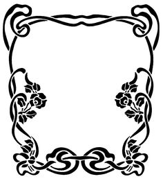 The Best Free Library (Clipart, Wallpapers, Fonts, Icons): Clipart/Black And White - Frames and Borders (101-200)