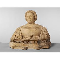 """""""The inscription on this imposing bust reminds the viewer not to forget the Lupari family, who held important positions in Bologna at the time. The date 1461 probably refers to the date of birth of the sitter."""""""