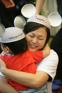 """With Disney's contribution, we can help rebuild thousands of children's lives affected by Sandy,"""" said Carolyn Miles, Save the Children's CEO."""