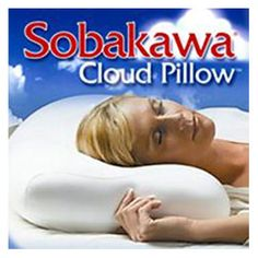 Filled with 10 Million Air Beads! The Sobakawa Cloud Pillow is like sleeping on a virtual sea of clouds. Buy the Sobakawa Cloud Pillow at the official As Seen On TV store today! Best Pillow, Perfect Pillow, Buckwheat Pillow, Get Rid Of Anxiety, How To Stop Snoring, Buy Tv, Cloud Pillow, Cute Pillows, Cognitive Behavioral Therapy