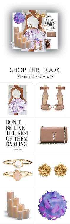 """Be different ❤️"" by sheika214 ❤ liked on Polyvore featuring Gianvito Rossi, Yves Saint Laurent, Accessorize, Miriam Haskell and Frontgate"