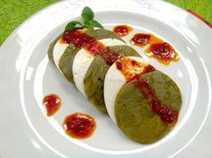 Nopales with guajillo vinagrette