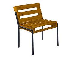Cadeira Margarida - Conhaque