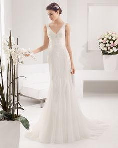 8B105 PAISAJE   Wedding Dresses   2015 Collection   Alma Novia