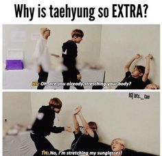 V is perfect with his extraness