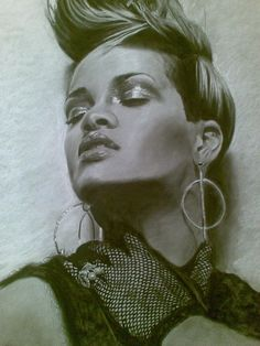 rihanna  by craig rutherford on ARTwanted