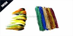 """Wholesale 10"""" Holographic Flashabou Tinsel Fly Tying Material"""