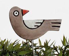 Pajaro arte del jardín  decoración jardín  ornamento por GVEGA, €12.40