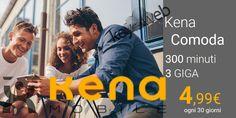 Migliore offerta passa a TIM MVNO con Kena Comoda: 300 minuti + 3GB a 4,99€  #follower #daynews - https://www.keyforweb.it/migliore-offerta-passa-a-tim-mvno-con-kena-comoda-300-minuti-3gb-a-499e/