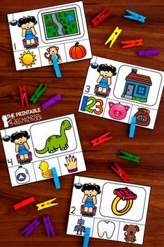 Nursery Rhyme themed centers...perfect for the beginning of the year in Kindergarten. Includes rhyming words, counting, alphabet practice, patterns, and more.