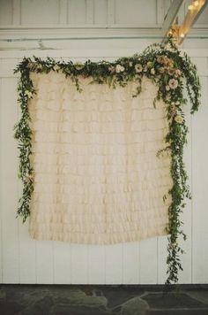 Ceremony Backdrops / Wedding Style Inspiration / LANE (instagram: the_lane)