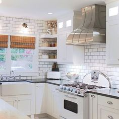 Kith Kitchens Door style in Maple, Cherry and Oak or MDF Custom Kitchen Cabinets, Kitchen Doors, Kitchen Gallery, Modern Farmhouse Kitchens, White Doors, Kitchen Design, Home Improvement, Black And White, Homestead