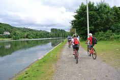 Ruta Dinant Namur Valonia Hanway blog viajes bici