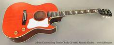 Gibson Custom Shop Tamio Okuda CF-100E Acoustic Electric Guitar Orange