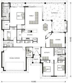 25 Best House Amp Cottage Floorplans Images In 2019 Floor
