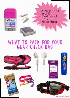 I am getting so excited for my third PRINCESS HALF MARATHON! One of the steps that so many runners forget to prep is their gear check bag. This essential gets you to the race and for after the race. I am one of those runners who does not carry much on the course but I use a lot of the gear check items for prep. I always prep my gear check bag the night before the race. This way I am prepared and ... Continue Reading  »