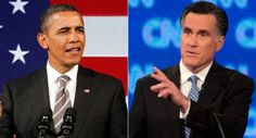 Romney vs Obama in the debate tonight...Romney is pwning while Obama pretty much lies through his teeth