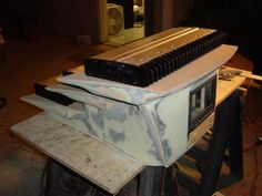 Amplifier rack being built for the show car. Car Audio Systems, Kitchen Appliances, Diy Kitchen Appliances, Home Appliances