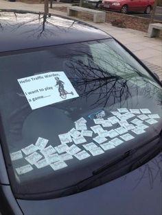 MentalDude! No Parking