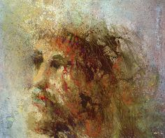 Fine Art Print- Jesus Christ Lamb of God Watercolor Painting Christian Religious Jesus Painting, Crucifixion Painting, Jesus Face, King Art, Jesus Pictures, Bible Pictures, Religious Art, Religious Paintings, Catholic Art