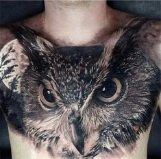 250 Hottest Chest Tattoos for Men and Women cool