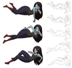 """Marceline"" as sprite artworks used in the fan. Anime Girl Neko, Thicc Anime, Anime Art Girl, Anime Comics, Kawaii Anime, Adventure Time Girls, Adventure Time Marceline, Cartoon Fan, Anime Furry"