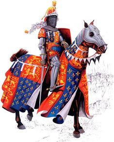 Edward Plantagenet, Prince of Wales ('The Black Prince'):