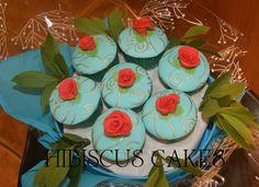 Rocco theme cupcake bouquet
