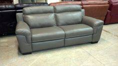 Macy S Julius Dark Taupe Electric Reclining Sofa Two Avaiable We Ship Anywhere