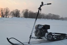 Homemade Snowmobile : 7 Steps - Instructables Triumph Motorcycles, Kawasaki Motorcycles, Custom Motorcycles, Ducati, Mopar, Motocross, Dirt Bike Girl, Girl Motorcycle, Motorcycle Quotes