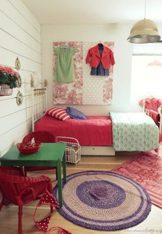 A Pink + Purple Room — Color Inspiration