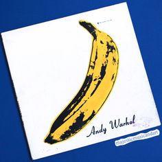 Velvet Underground Amp Nico Half Peeled Banana Andy Warhol