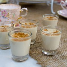 I Quit Sugar - This Almond Chai Panna Cotta is sure to impress (and so is the gelatin it's made with!)