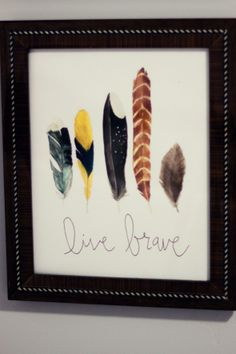 Going to start collecting some of the feathers I see for Silas's nursery!